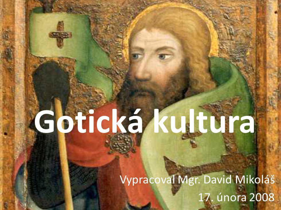 Vypracoval Mgr. David Mikoláš 17. února 2008