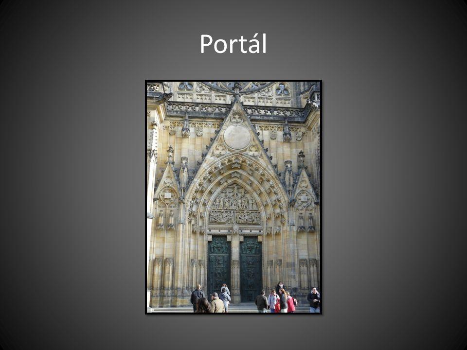 Portál Chrám sv. Víta v Praze