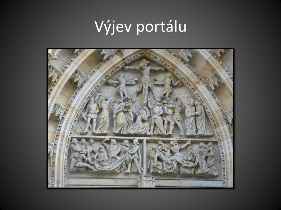 Výjev portálu Chrám sv. Víta v Praze