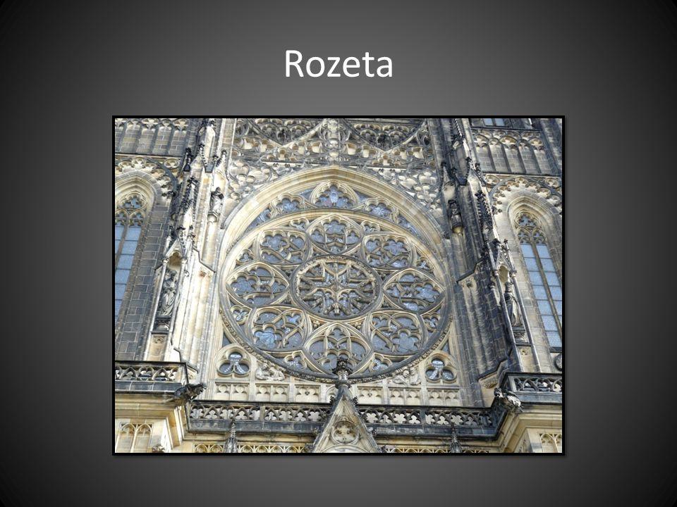 Rozeta Chrám sv. Víta v Praze