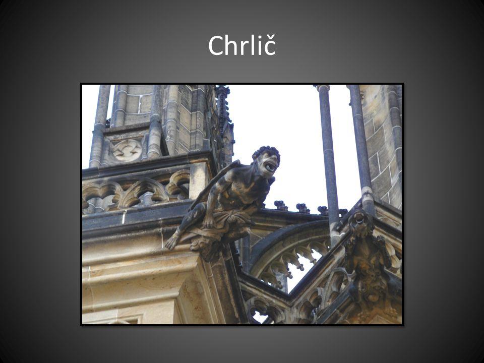 Chrlič Chrám sv. Víta v Praze
