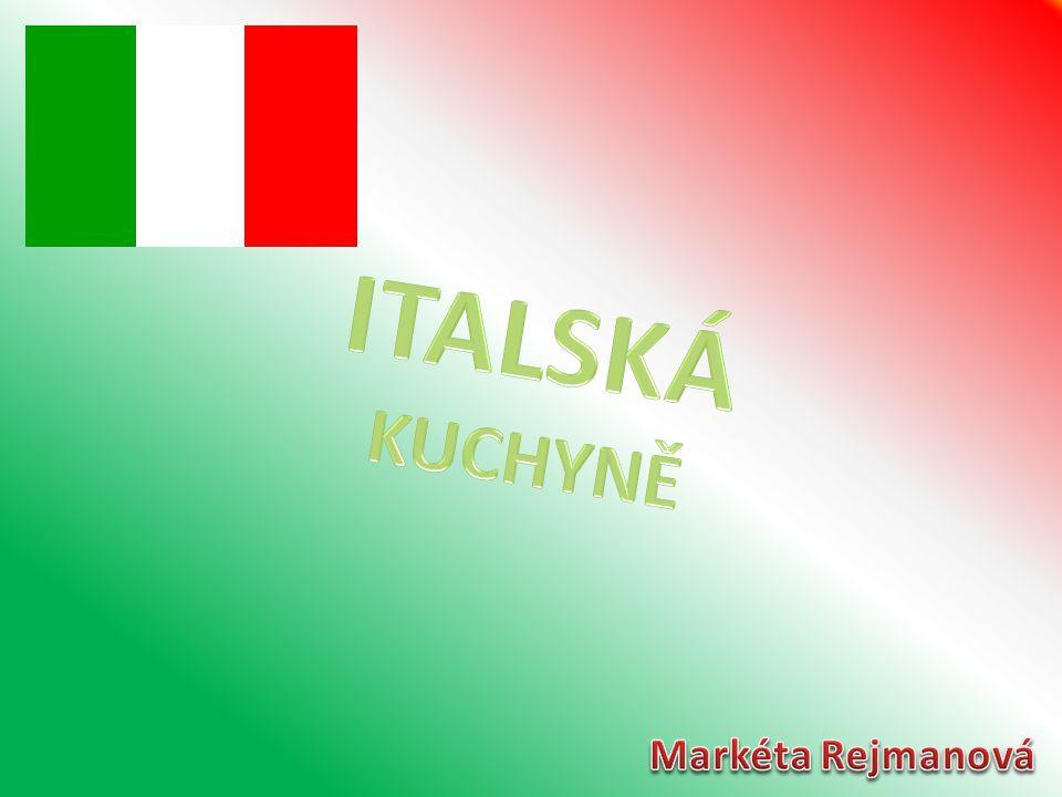 ITALSKÁ KUCHYNĚ Markéta Rejmanová