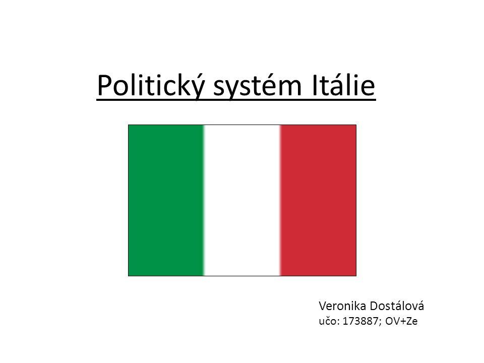 Politický systém Itálie