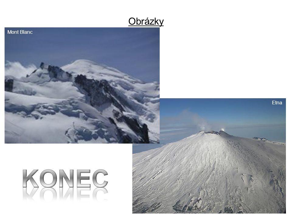 Obrázky Mont Blanc Etna KONEC