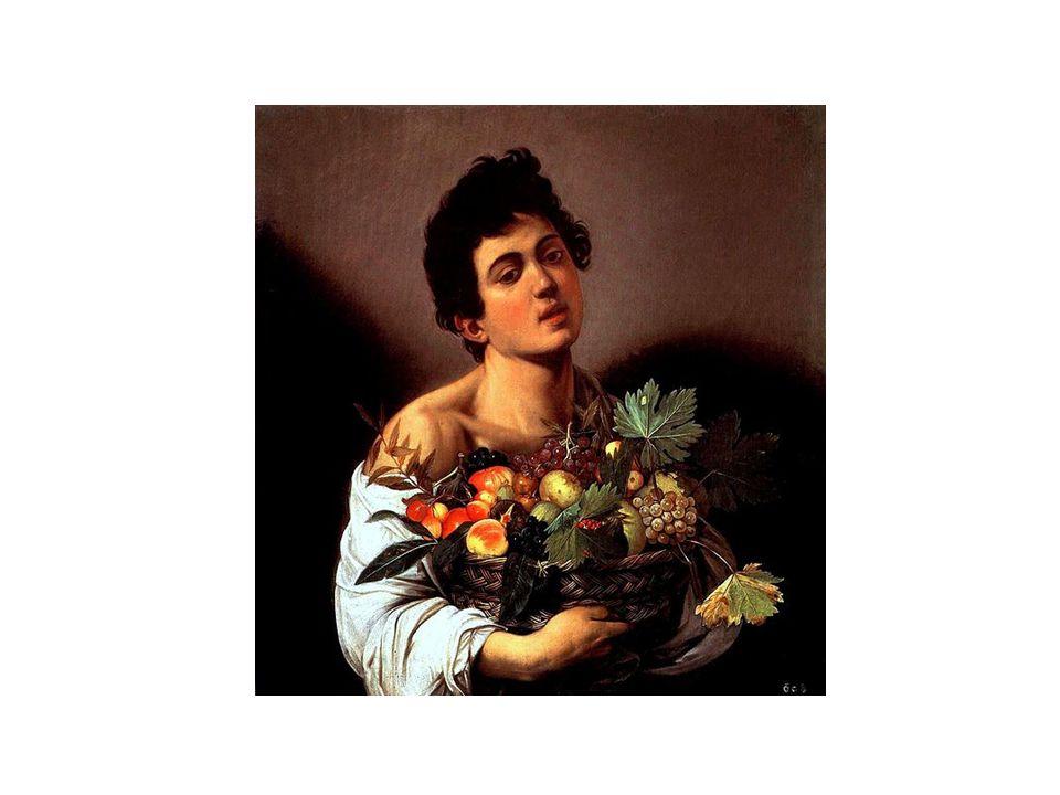 Chlapec s košíkem ovoce, 1593 - 1594