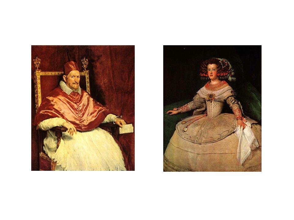 vlevo: portrét papeže Innocence X