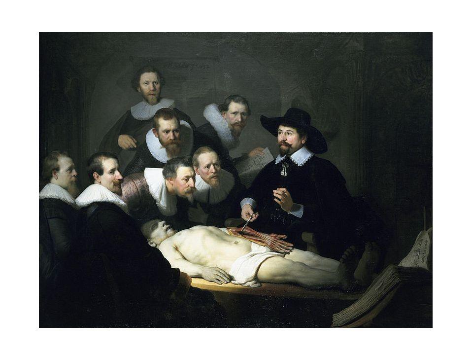 Anatomie dr. Tulpa, 1632
