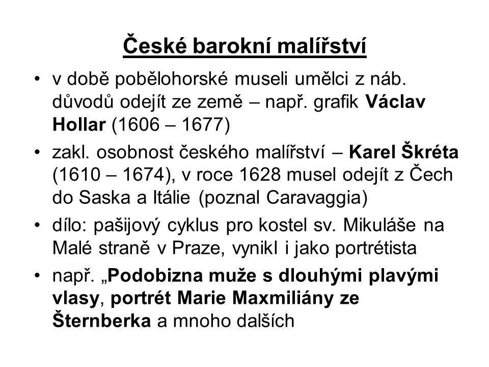 České barokní malířství