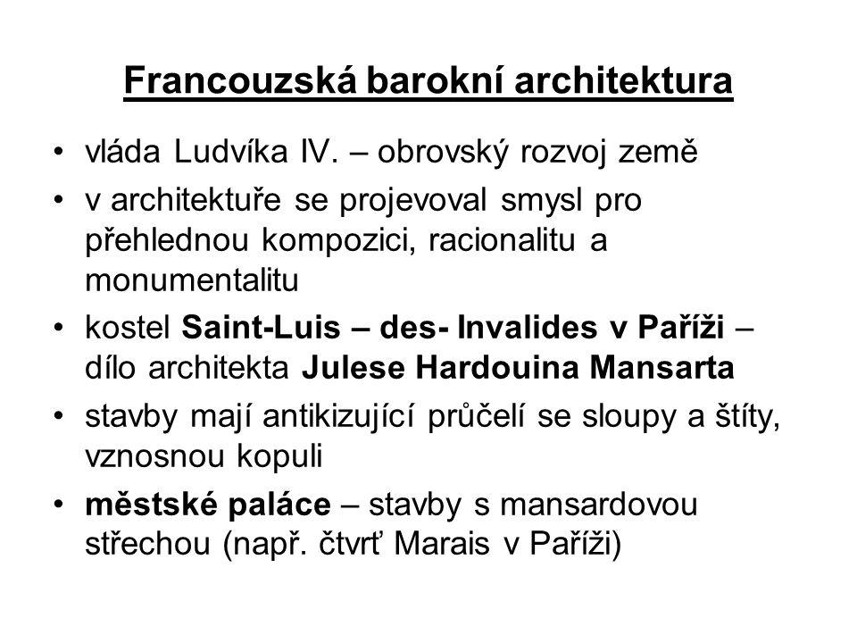 Francouzská barokní architektura