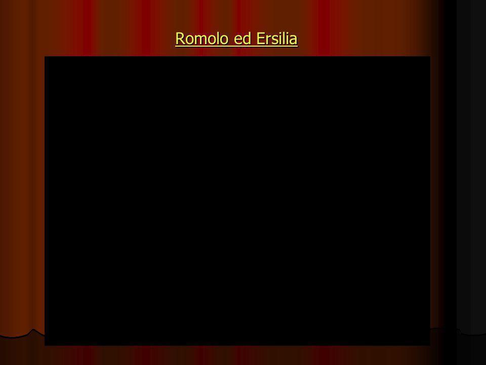 Romolo ed Ersilia