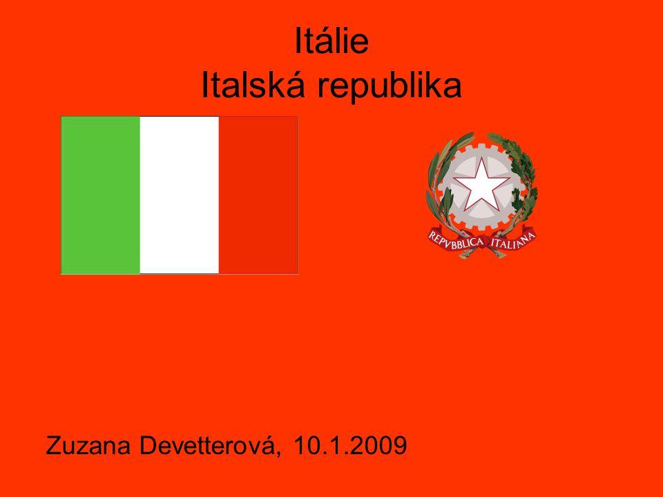 Itálie Italská republika