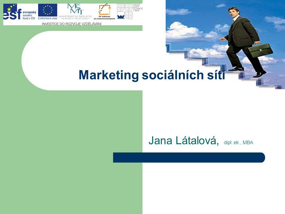 Marketing sociálních sítí