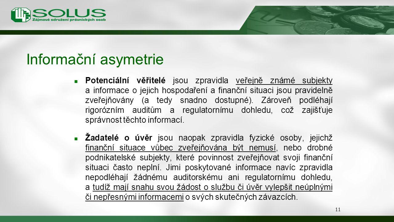 Informační asymetrie