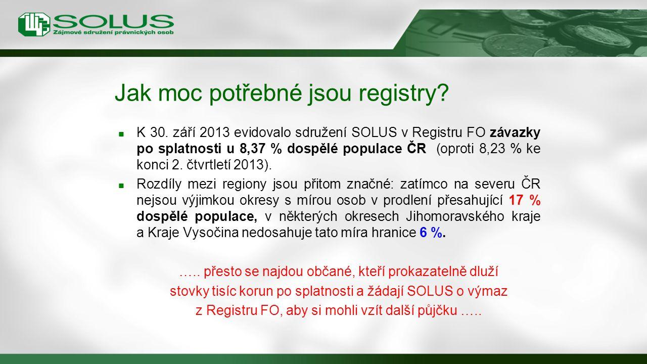 Jak moc potřebné jsou registry