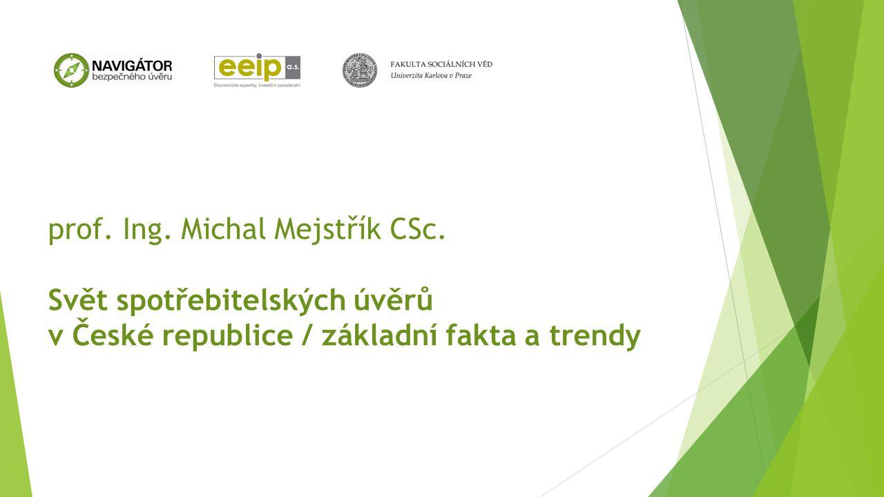 prof. Ing. Michal Mejstřík CSc