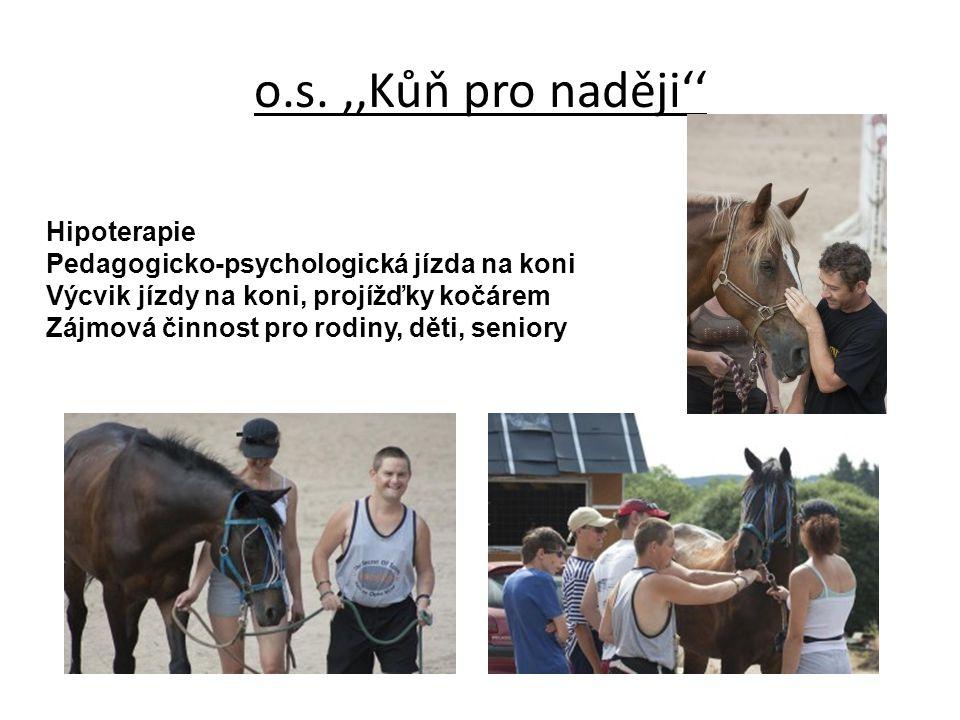o.s. ,,Kůň pro naději'' Hipoterapie