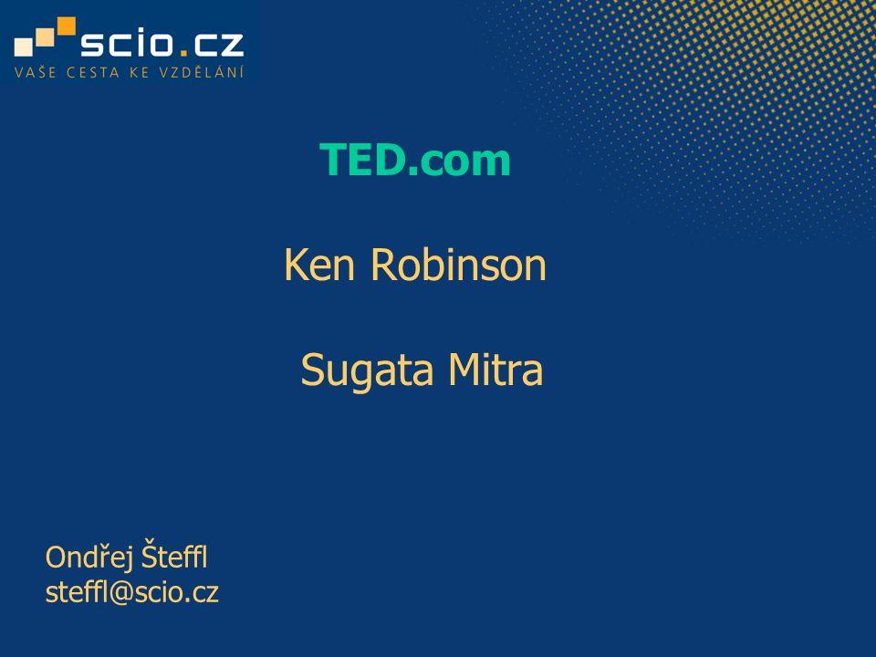 TED.com Ken Robinson Sugata Mitra