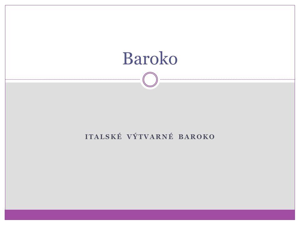 Italské výtvarné baroko