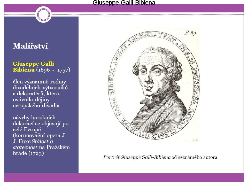 Malířství Giuseppe Galli Bibiena Giuseppe Galli Bibiena