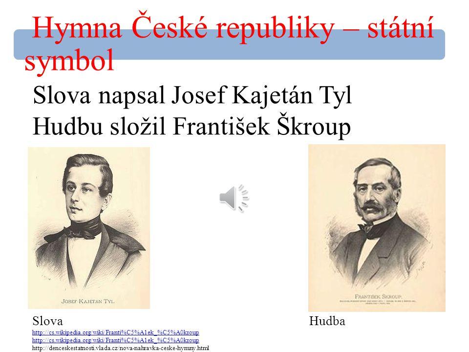 Hymna České republiky – státní symbol