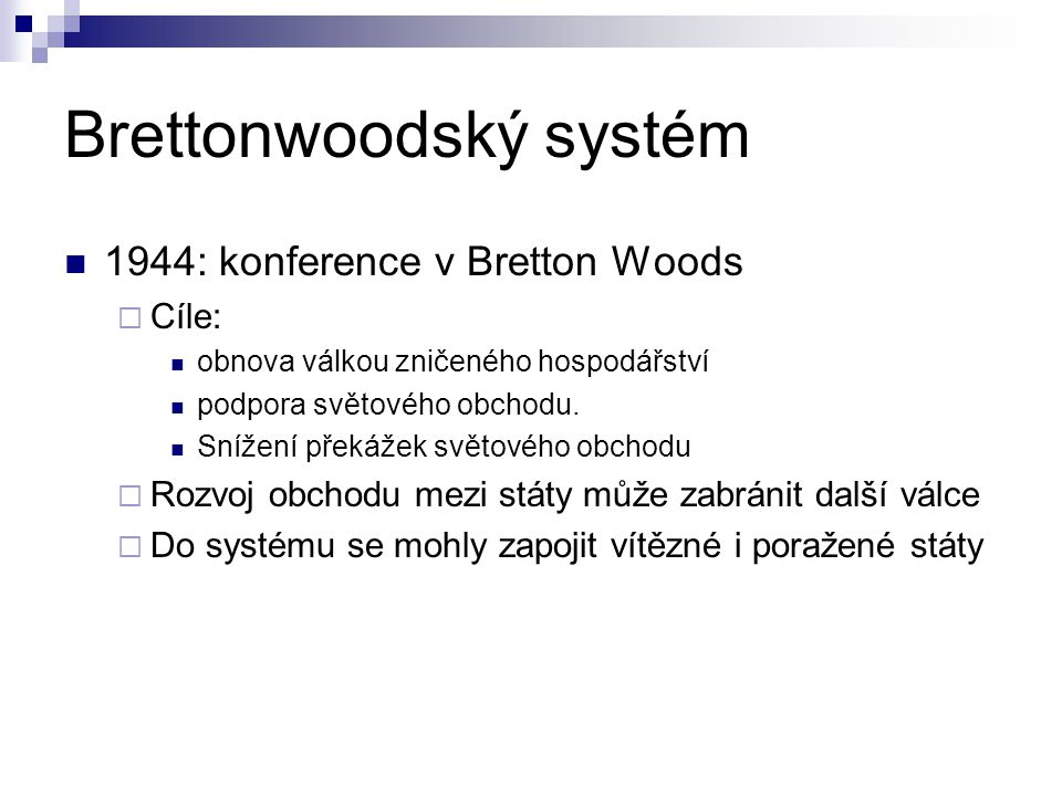 Brettonwoodský systém