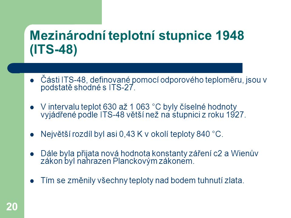 Mezinárodní teplotní stupnice 1948 (ITS-48)