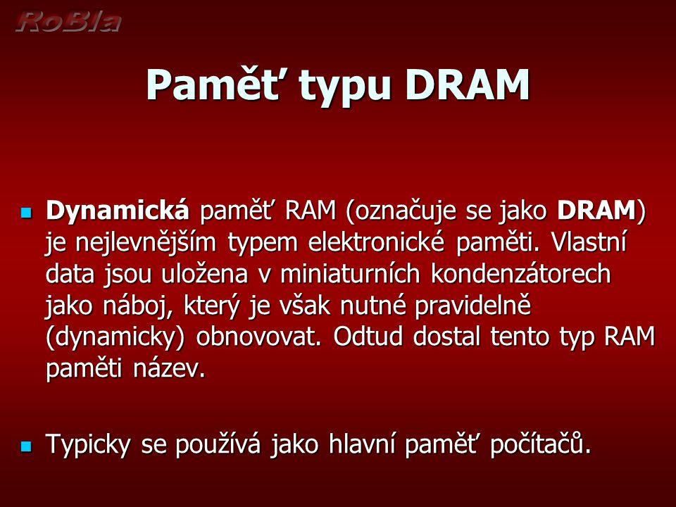 Paměť typu DRAM