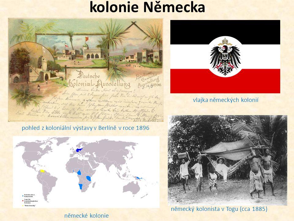 kolonie Německa vlajka německých kolonií