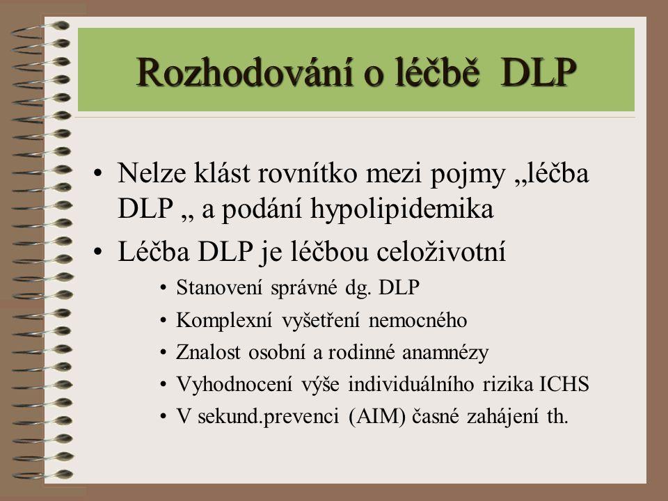 Rozhodování o léčbě DLP