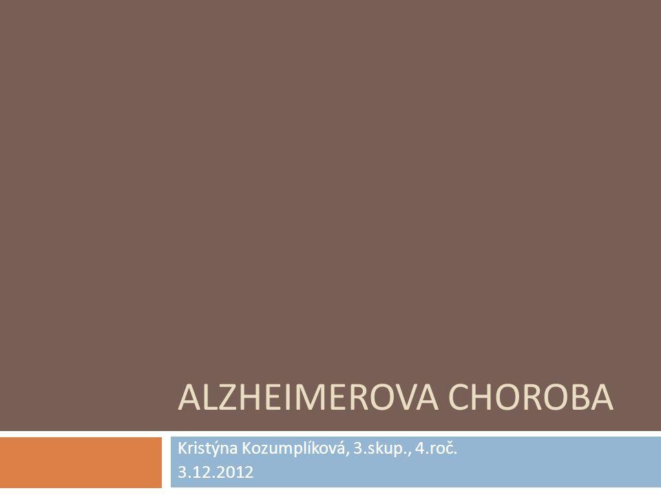 Kristýna Kozumplíková, 3.skup., 4.roč. 3.12.2012
