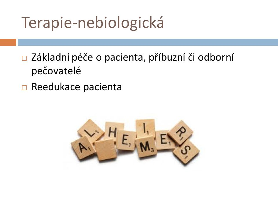 Terapie-nebiologická