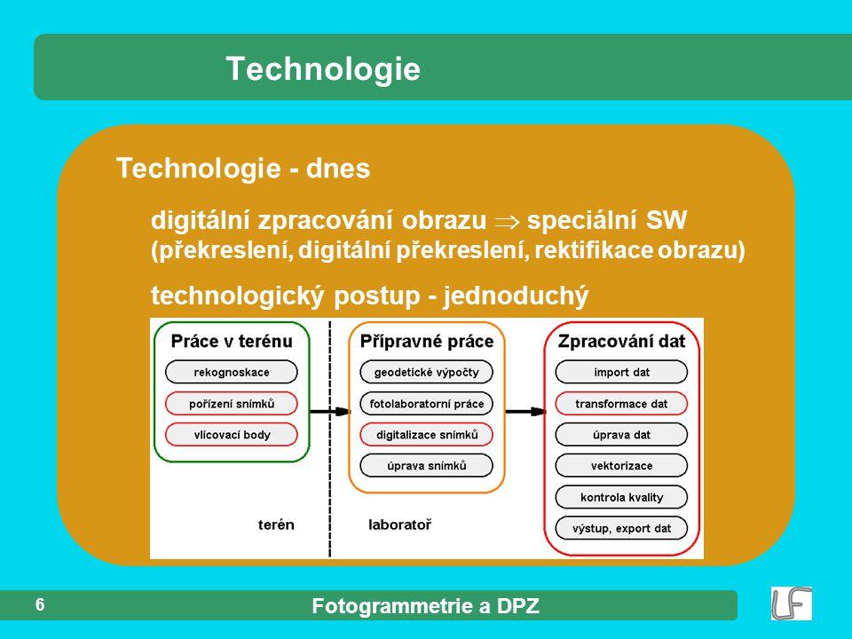 Technologie Technologie - dnes