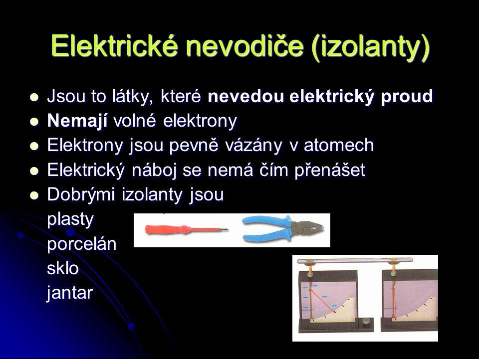 Elektrické nevodiče (izolanty)