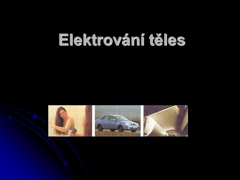 Elektrování těles