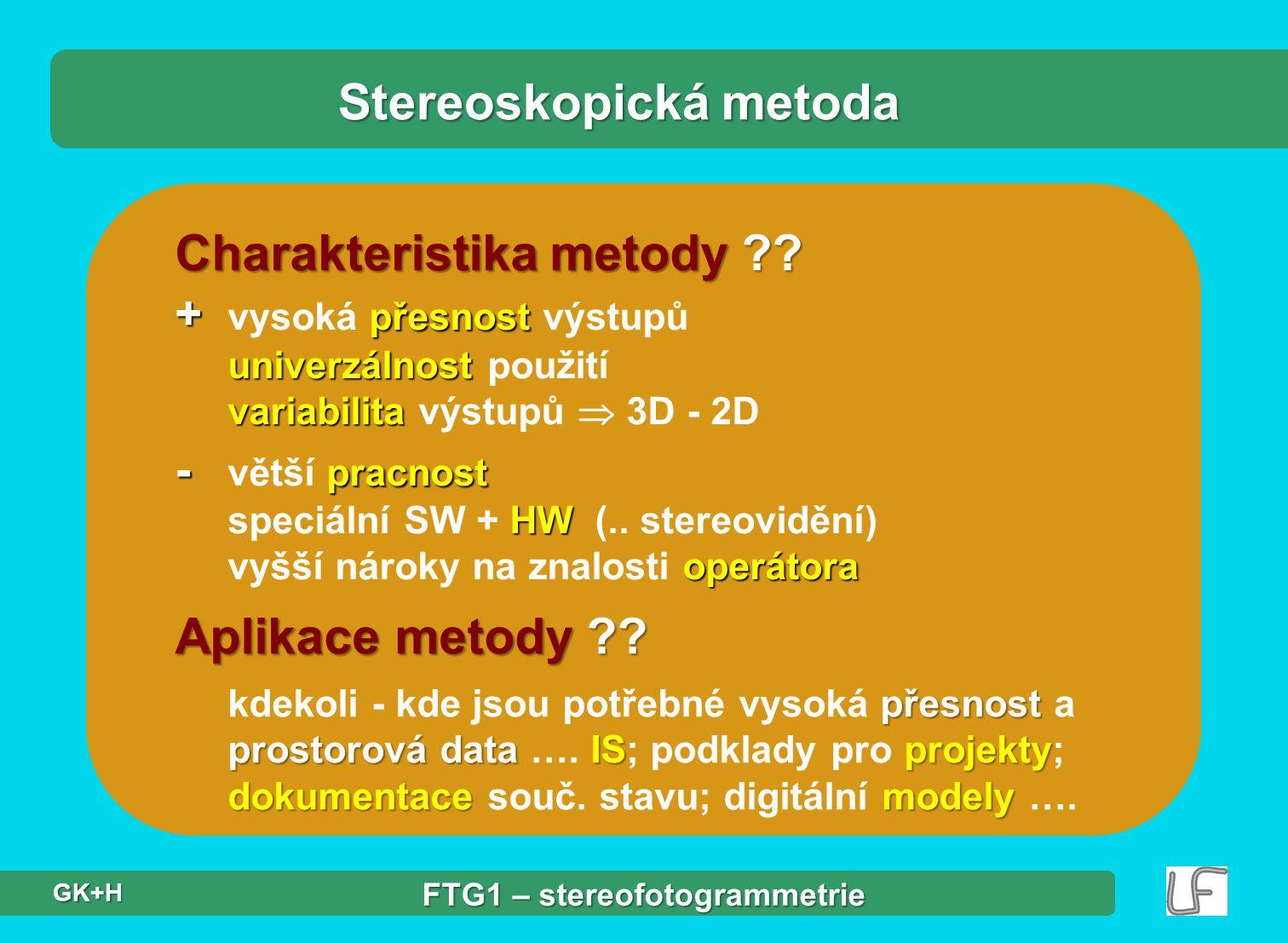 Stereoskopická metoda