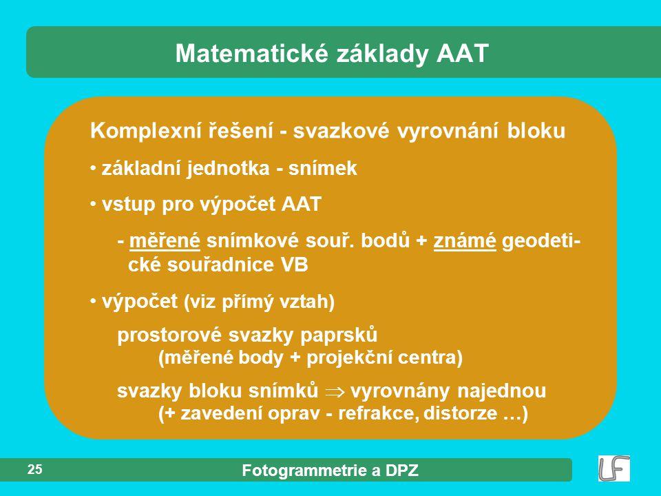 Matematické základy AAT