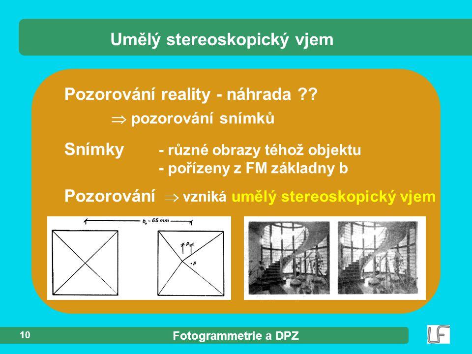 Umělý stereoskopický vjem
