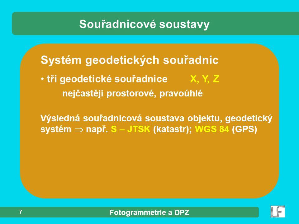 Souřadnicové soustavy