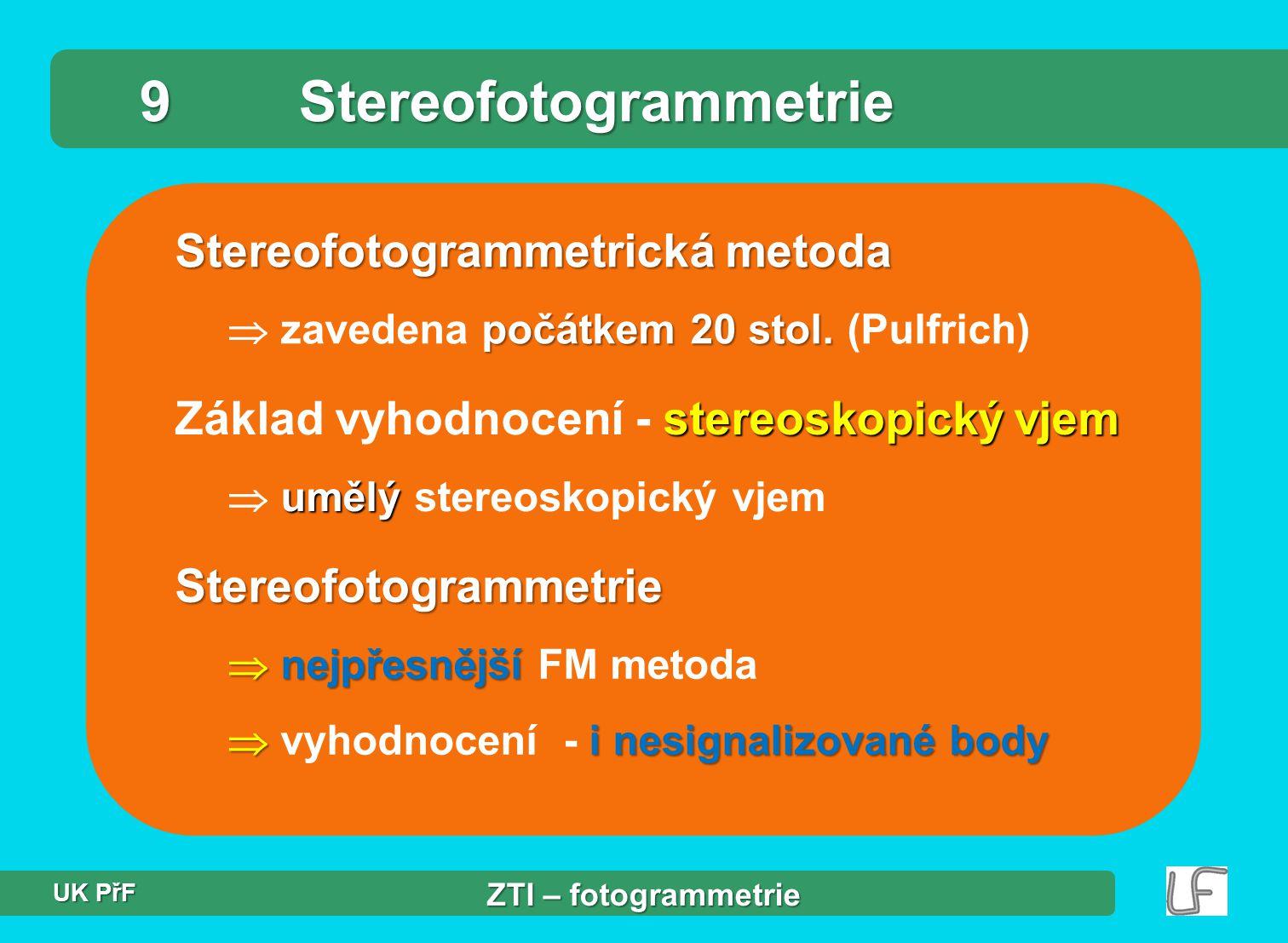 9 Stereofotogrammetrie