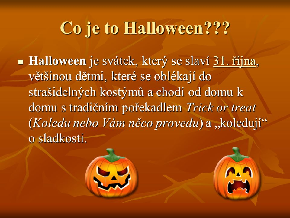 Co je to Halloween