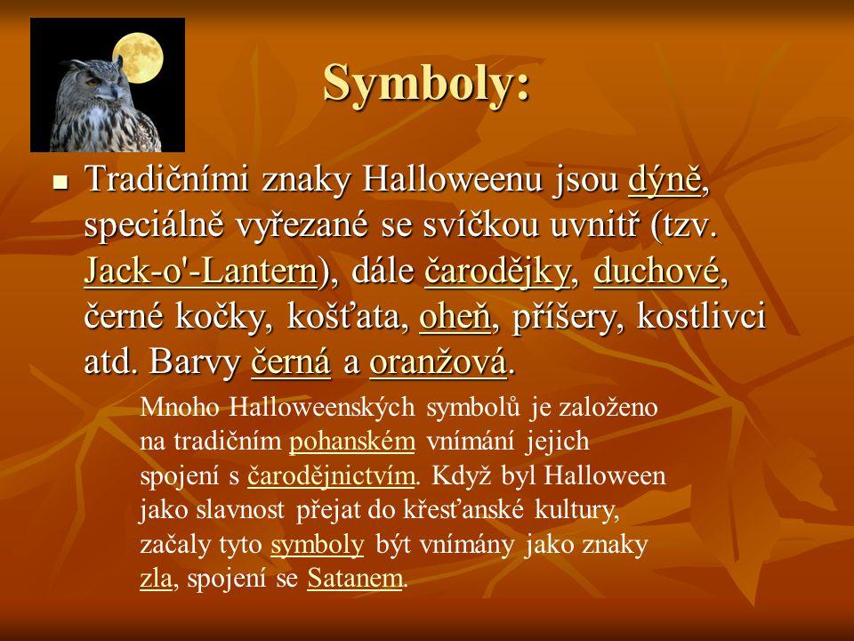 Symboly: