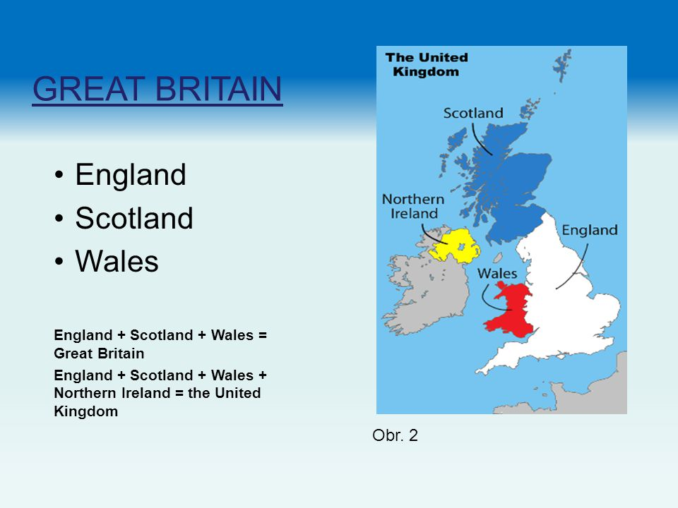 GREAT BRITAIN England Scotland Wales Obr. 2
