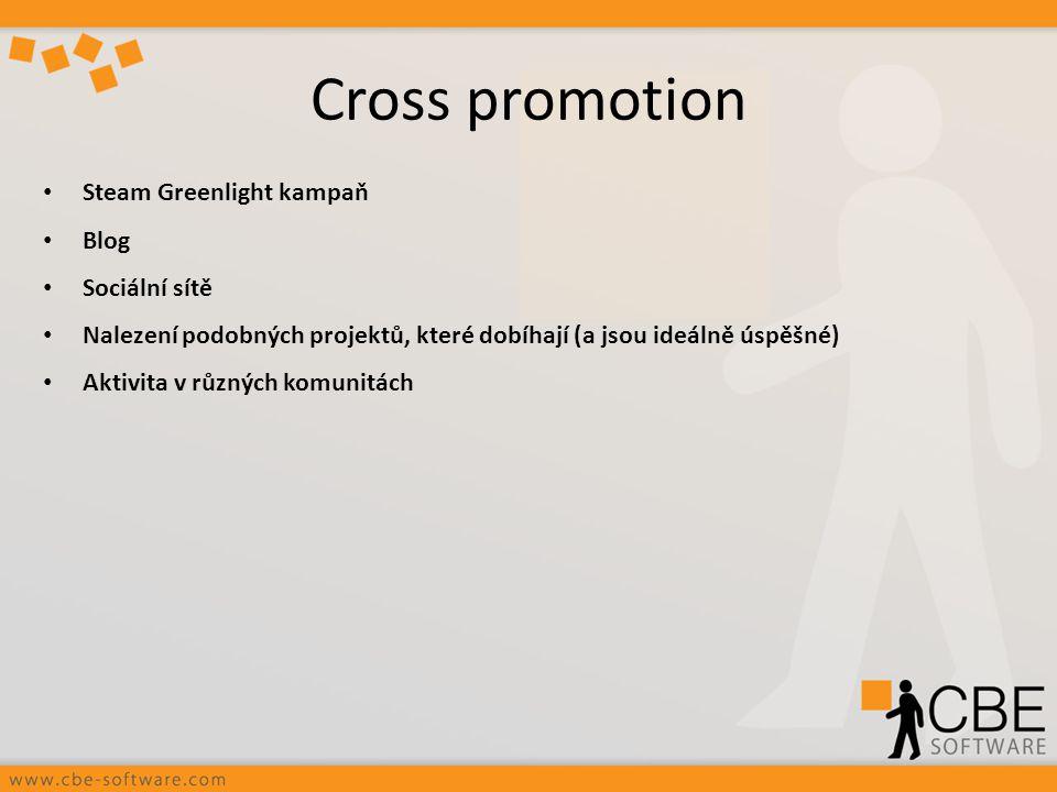 Cross promotion Steam Greenlight kampaň Blog Sociální sítě