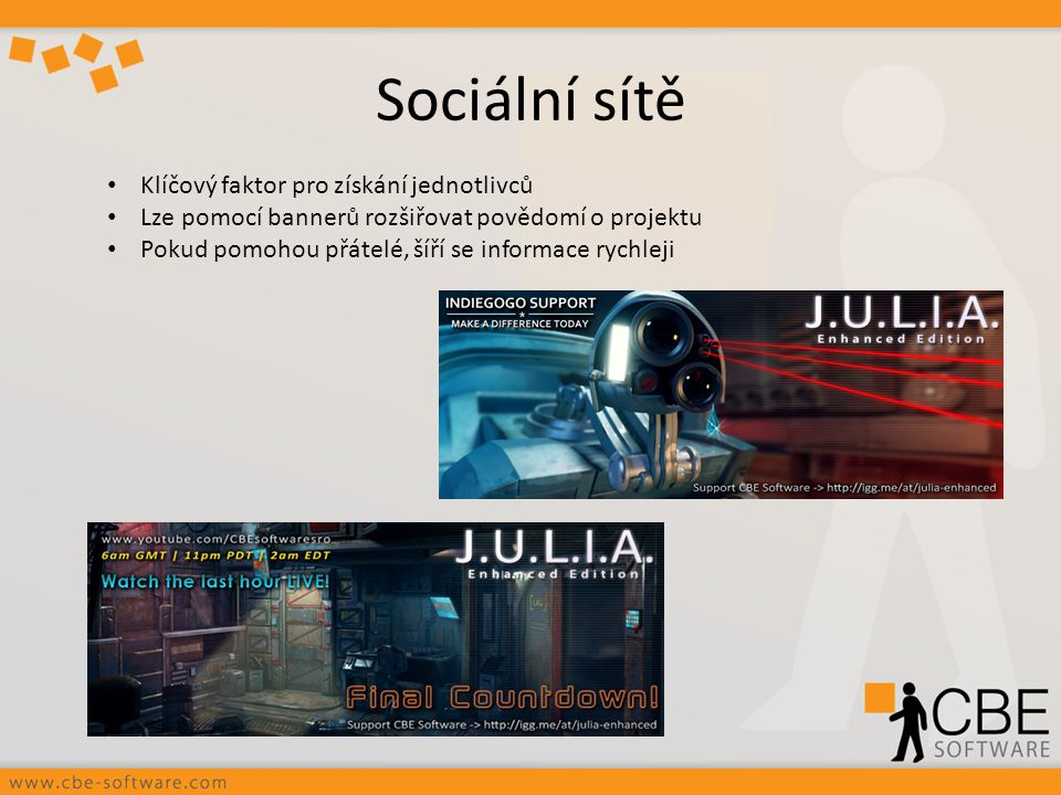 Sociální sítě Klíčový faktor pro získání jednotlivců