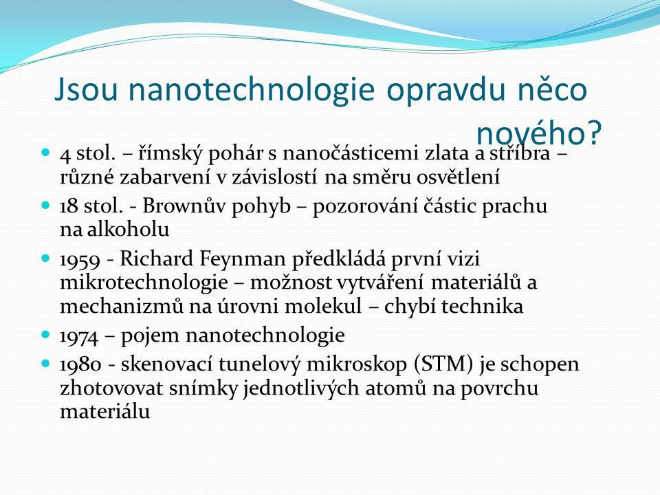 Jsou nanotechnologie opravdu něco nového