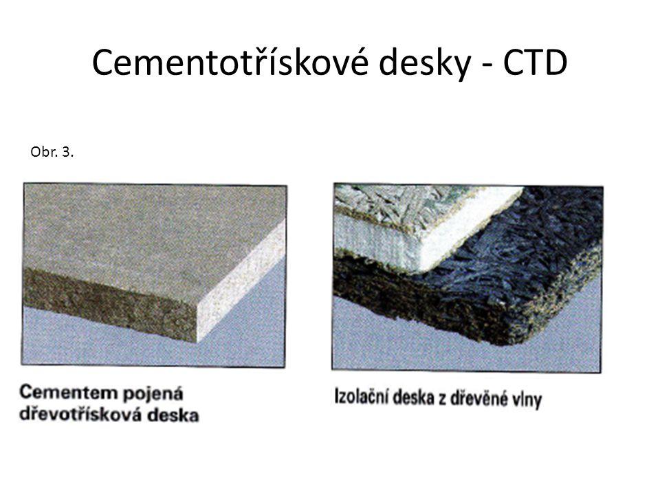 Cementotřískové desky - CTD
