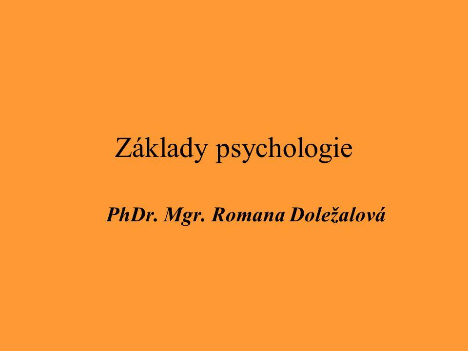 PhDr. Mgr. Romana Doležalová