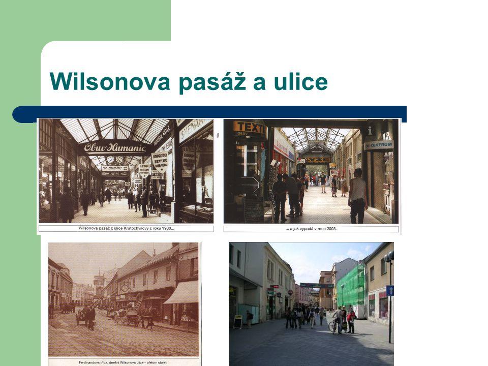 Wilsonova pasáž a ulice