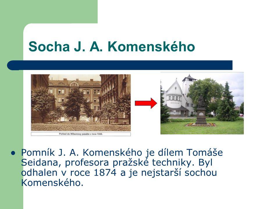 Socha J. A. Komenského