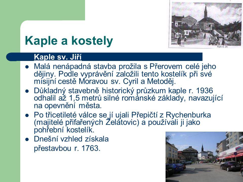 Kaple a kostely Kaple sv. Jiří